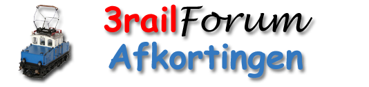 3railforum logo website - afkortingen