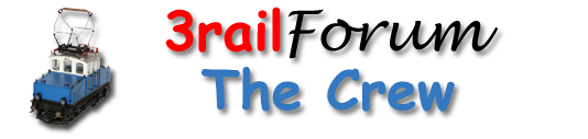 3railforum logo website - the crew
